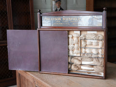 Early 20th Century Cased Linen Thread Display