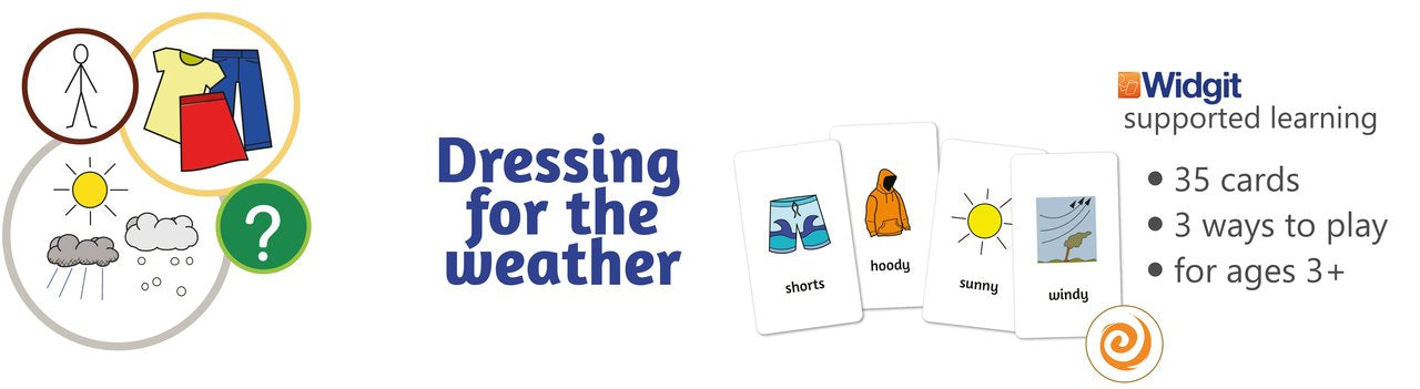 Dressing for the weather game by Sensory Trust