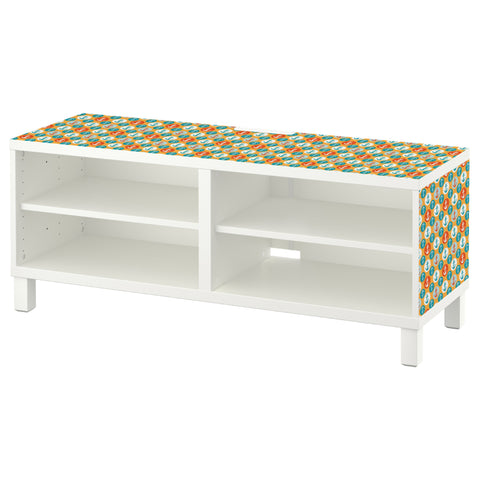 Anchors design BESTA TV Bench DecorPak