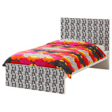 Kale design MALM Single bed DecorPak