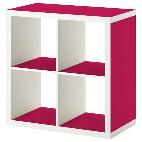 Cerise A design KALLAX Shelving unit DecorPak