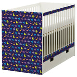 Dino Night design STUVA Cot DecorPak