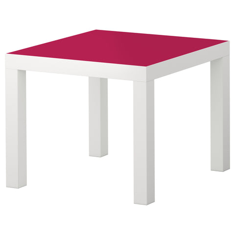 Cerise A design LACK Side table DecorPak