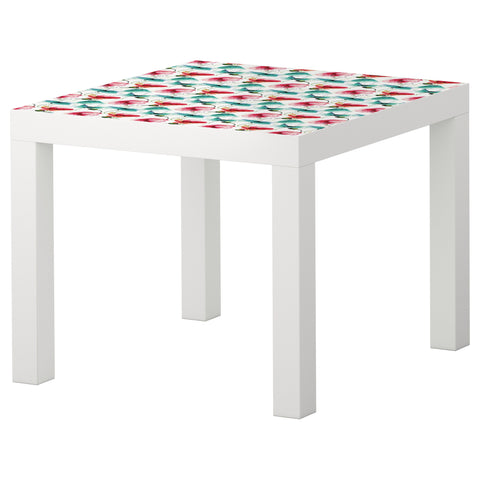 Poppies II design LACK Side table DecorPak