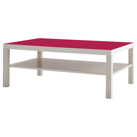 Cerise A design LACK Coffee table DecorPak