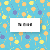 Teal Lollypop design LACK Coffee table DecorPak