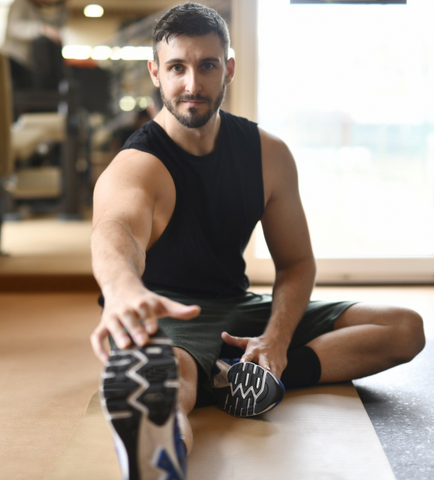 Stretching is a great foot care exercise