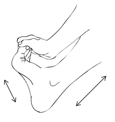 Foot Exercise Toe Extension