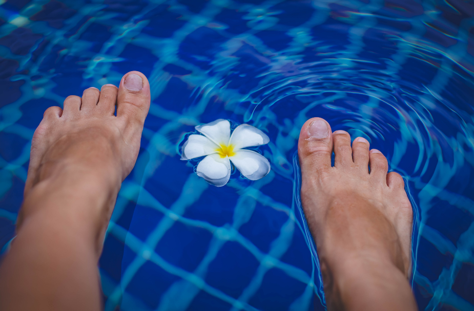 Foot care can be relaxing and beneficial for foot pain relief