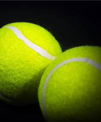 Tennis Balls make a great stretching tool for foot care