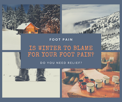 Winter footwear can cause foot pain