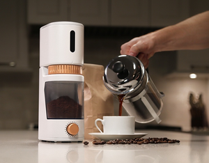 "A Coffee Grinder That May Be a Little Too ""Smart"""