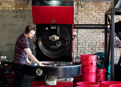 Checking Out What's Good at Dogwood - August Featured Roaster