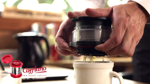 Competition for the AeroPress? Another solid product from Cafflano