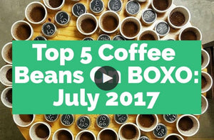 Top Coffee Beans, July 2017