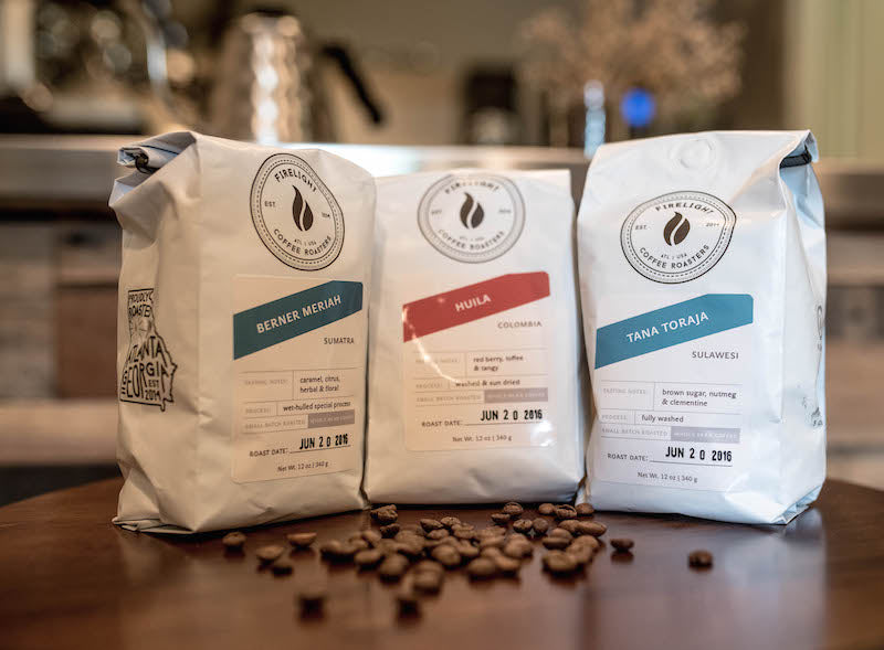 firelight coffee roasters bags