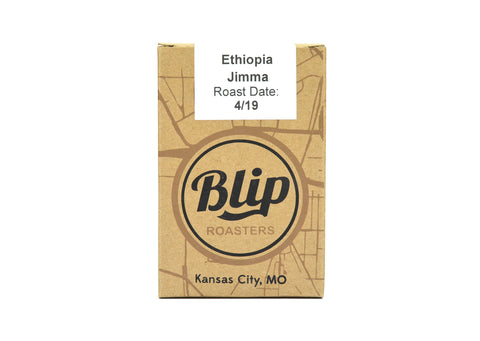 ethiopia coffee beans from blip coffee roasters