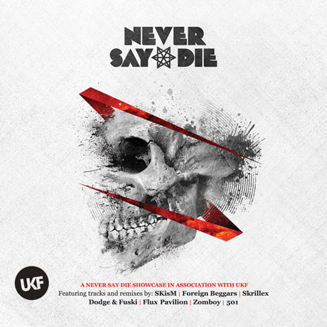 Never Say Die Compilation in Association with UKF (2xCD) - UKF Music Store