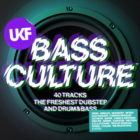 UKF BASS CULTURE (2XCD)