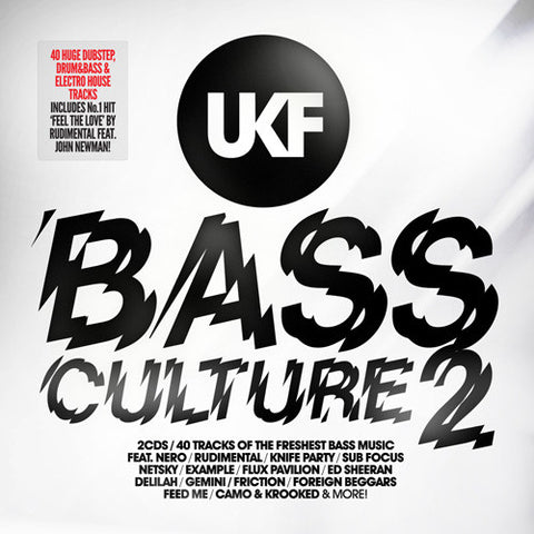 UKF BASS CULTURE 2 (2XCD)