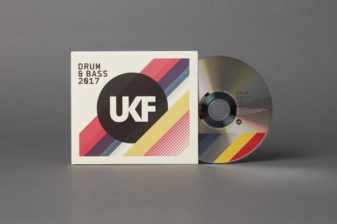 UKF Drum & Bass 2017 - CD - UKF Music Store