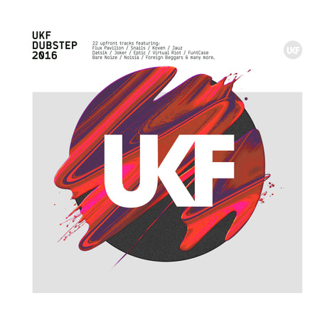 UKF Dubstep 2016 - CD