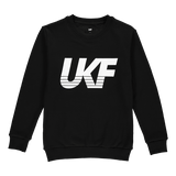 Italic Sweater - Black - UKF Music Store
