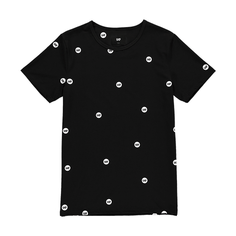 Pattern Tee - Black - UKF Music Store