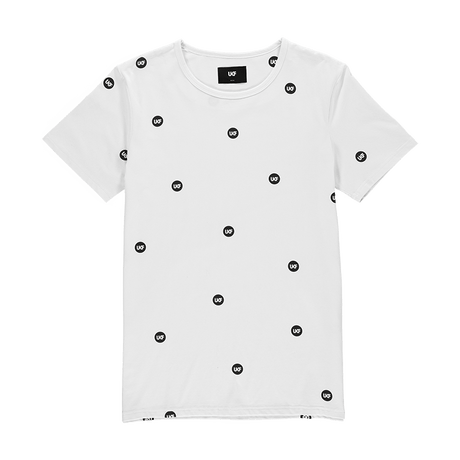 Pattern Tee - White - UKF Music Store