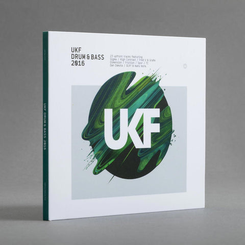 UKF Drum & Bass 2016 - CD - UKF Music Store