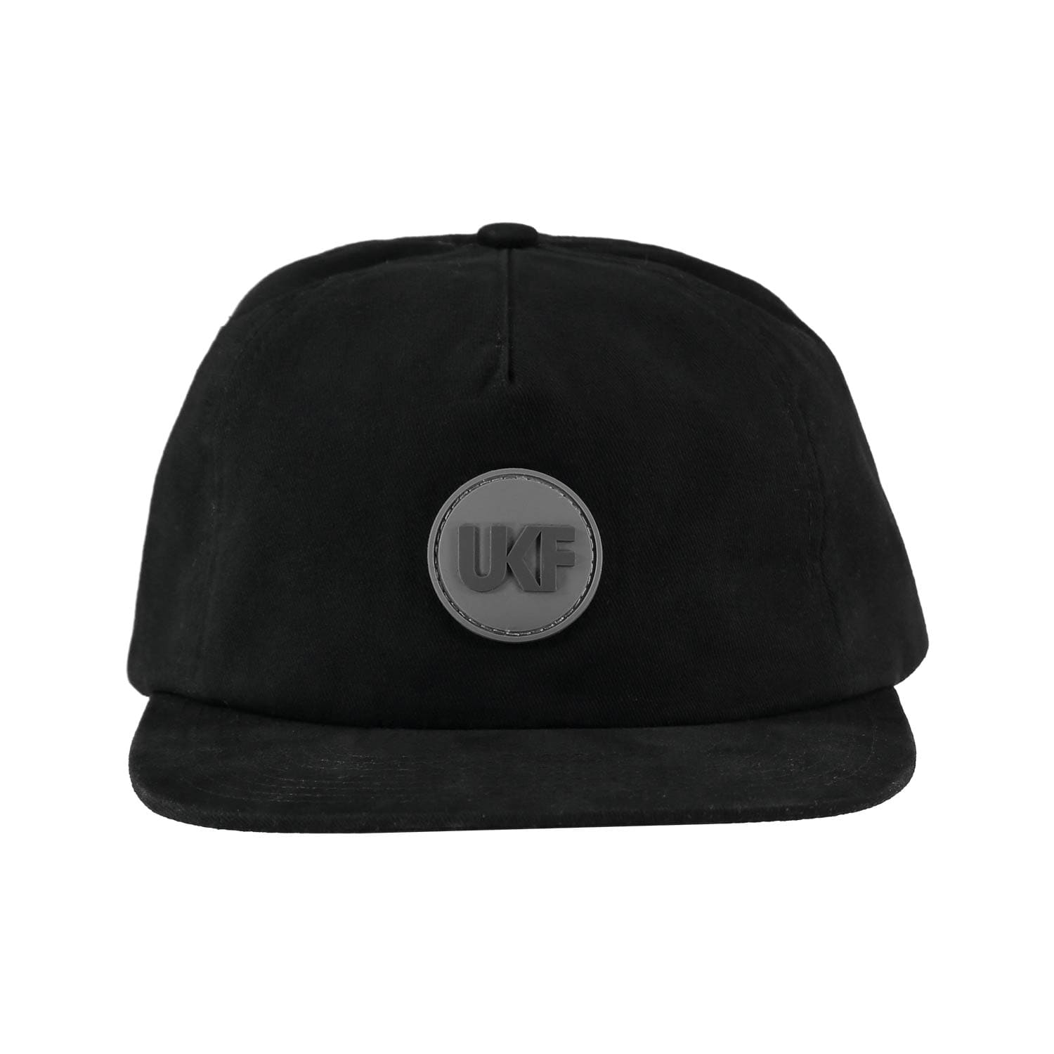 UKF Snapback in black