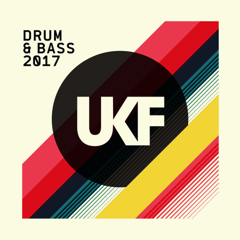 UKF Drum & Bass 2017 - CD