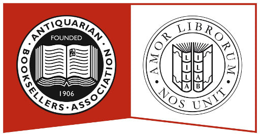 Member of the Antiquarian Booksellers Association and International League of Antiquarian Booksellers