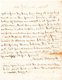 NELSON Horatio - Autograph Letter Signed 1803 on board the Victory while blockading Toulon