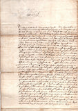 CHARLES I - Letter Signed 1627 pleading the cause of a young couple