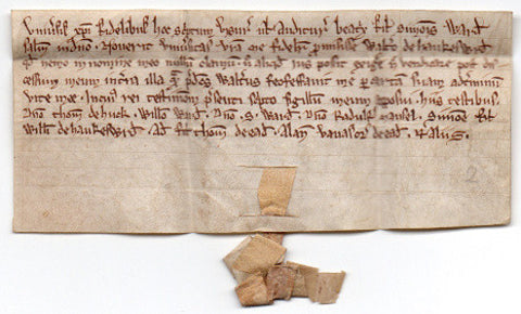 CHARTER c1270 - in the name of Beatrice Ward