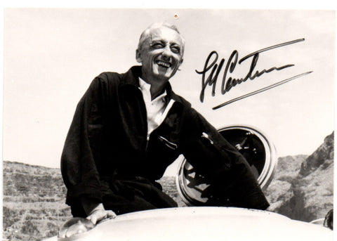 COUSTEAU Jacques-Yves - Photograph Signed