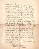 CRANE Walter - Autograph Letter Signed 1907 regarding works for an exhibition
