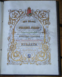 FRANZ JOSEF - Exceptional Bound Document Signed with Seal 1881 regarding railways in Hungary