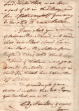 HAMILTON Sir William - Autograph Letter Signed 1793 from Naples discussing the situation in the Mediterranean