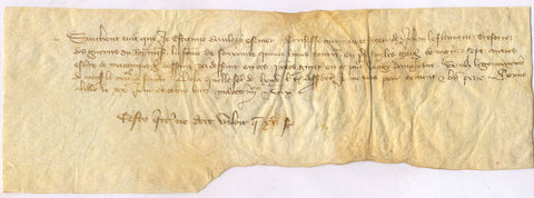 HUNDRED YEARS WAR - receipt 1386