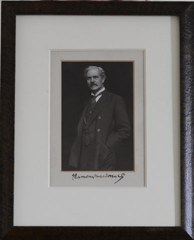 MACDONALD James Ramsay - Photograph Signed