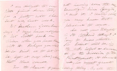 MARTINEAU Harriet - Autograph Letter Signed
