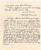 NANSEN Fridtjof - Autograph Letter Signed 1923 reporting on Red Cross aid during the Russian famine