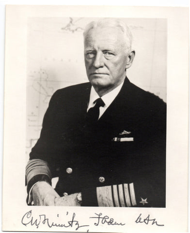 NIMITZ Chester W. - Photograph Signed