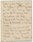RENOIR Pierre - Autograph Letter Signed 1918 from the son of the artist to sculptor Richard Guino
