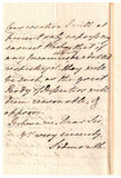 SIDMOUTH Lord - Autograph Letter Signed 1809