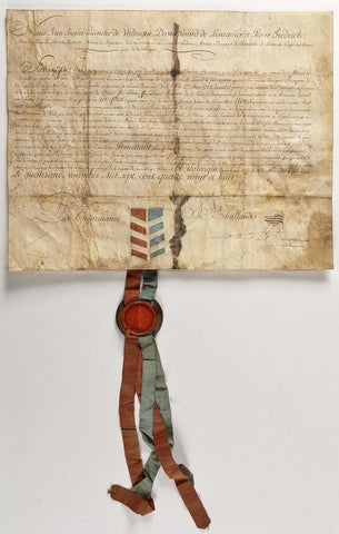 SWITZERLAND - Attractive Document Signed 1788