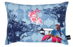 Esplanade Blue Sky at Dawn Kouamo Cushion
