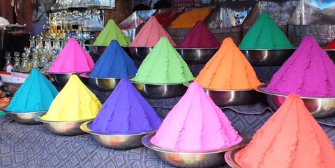 Colours of India, Photograph by Debbie Blott, The Decor Cafe